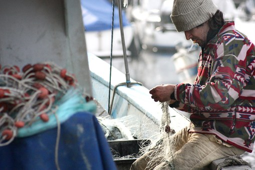 industries affected by brexit fisherman on boat
